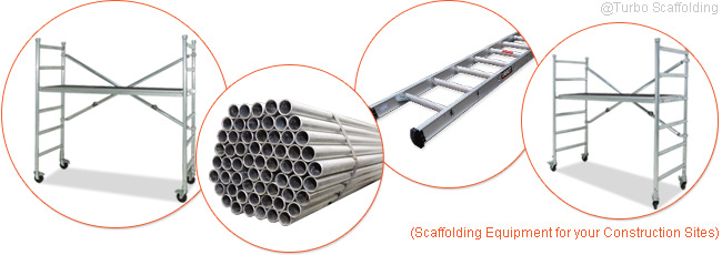 Scaffolding Equipments for your Construction Sites
