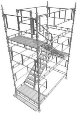 Patented Scaffolding