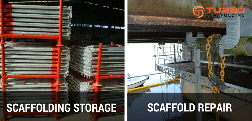 Scaffolding Repair and Storage