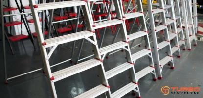 Aluminium Scaffold Ladders