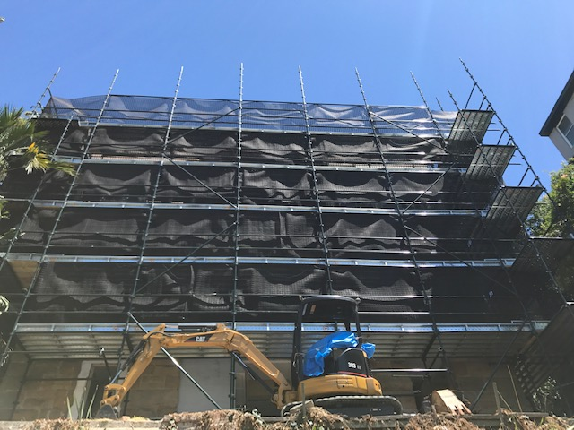 Scaffold - Potts Points NSW
