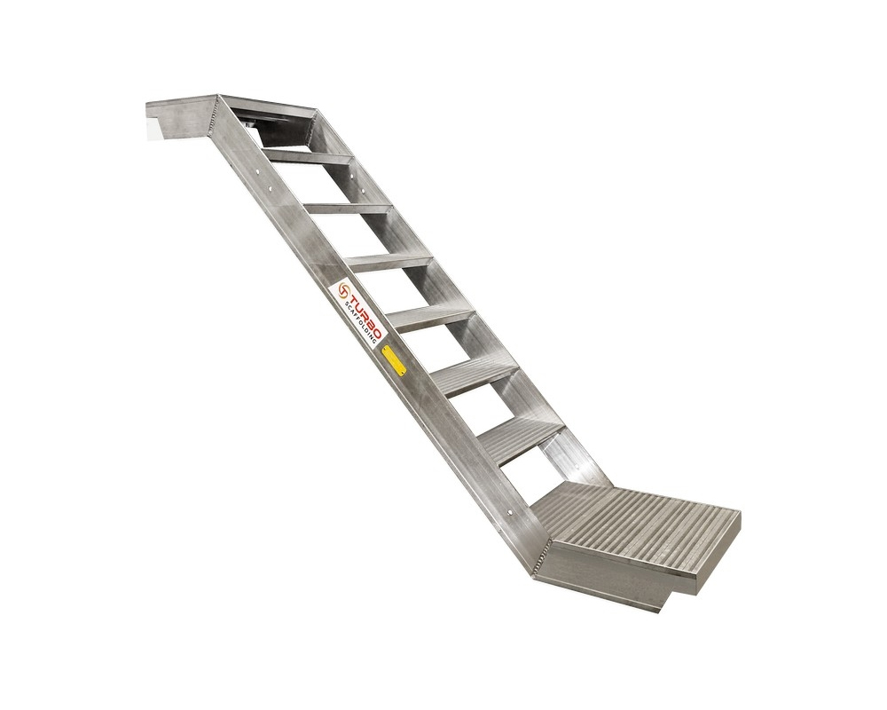 Aluminium Stairs | Aluminium Ladders - Turbo Scaffolding