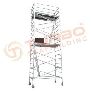 3 Meter High Wide Aluminium Mobile Tower - Turbo Scaffolding