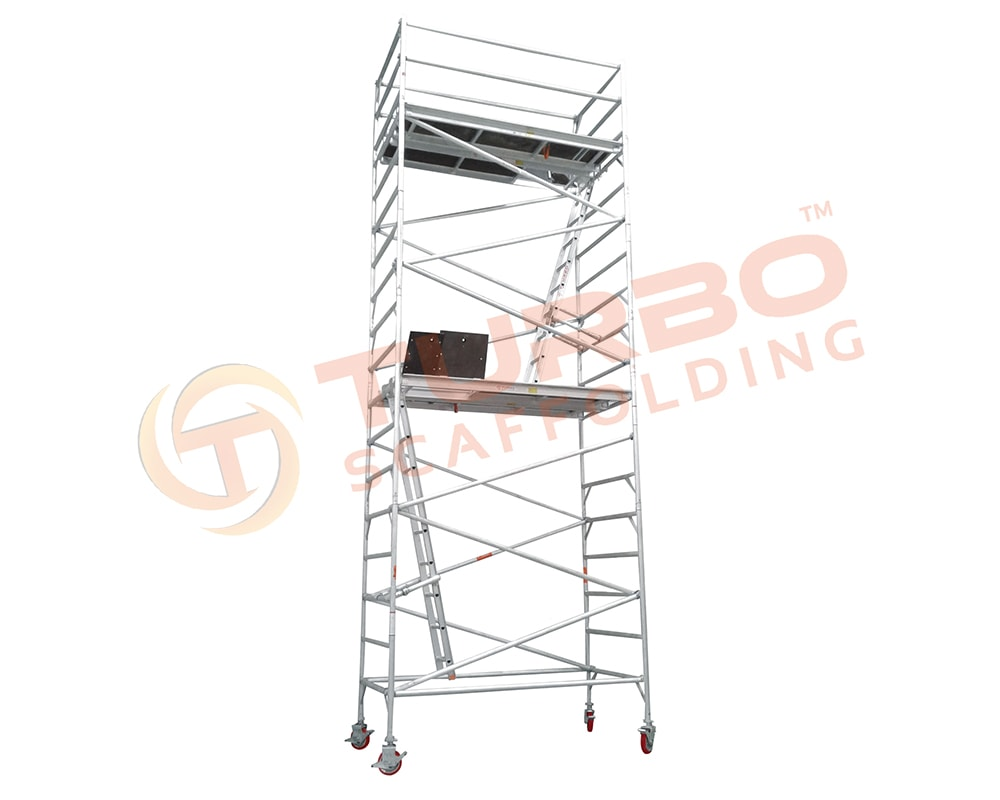 6 Meter High Wide Aluminium Mobile Tower