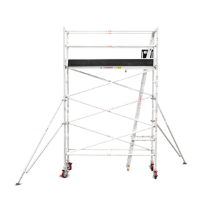 3.1m – 3.4m Narrow Aluminium Mobile Tower (Standing Height)