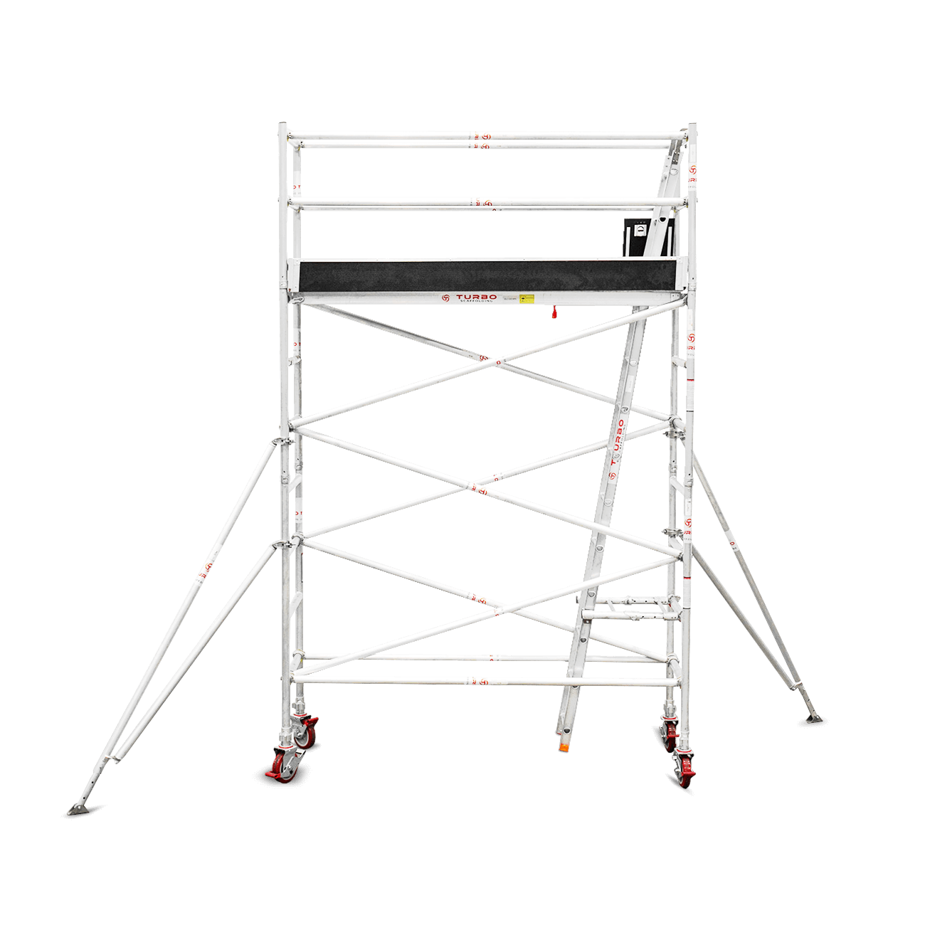 3.1m – 3.4m Narrow Aluminium Mobile Scaffold Tower (Standing Height)