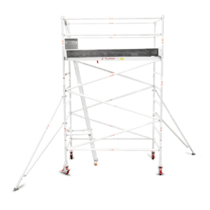 3.1m – 3.4m Wide Aluminium Mobile Tower (Standing Height)