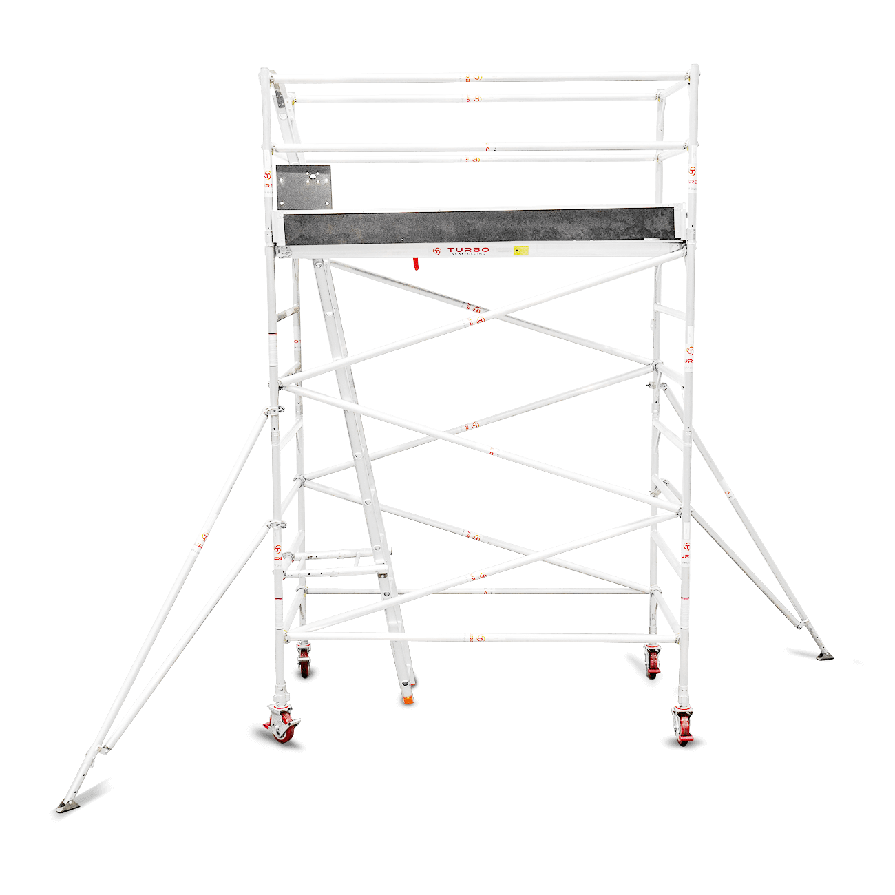 3.1m – 3.4m Wide Aluminium Mobile Scaffold Tower (Standing Height)