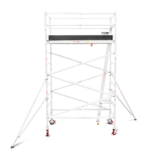 3.5m – 3.8m Wide Aluminium Mobile Tower (Standing Height)