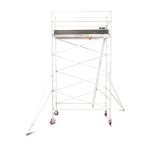 3.9m - 4.2m Wide Aluminium Mobile Tower (Standing Height)