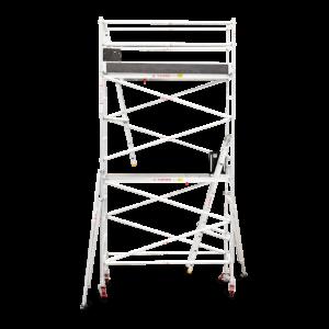 4.3m - 4.6m Narrow Aluminium Mobile Tower (Standing Height)