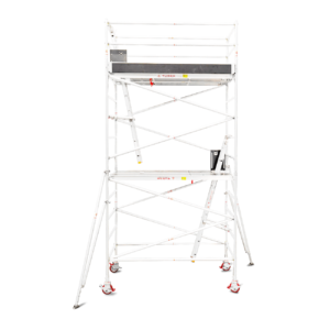 4.3m - 4.6m Wide Aluminium Mobile Tower (Standing Height)