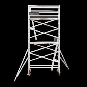4.7m - 5.0m Narrow Aluminium Mobile Tower (Standing Height)