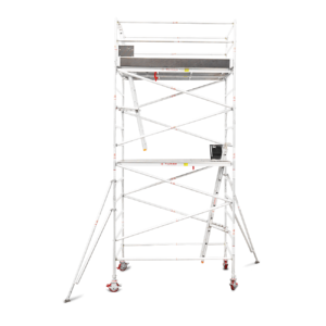 4.7m - 5.0m Wide Aluminium Mobile Tower (Standing Height)