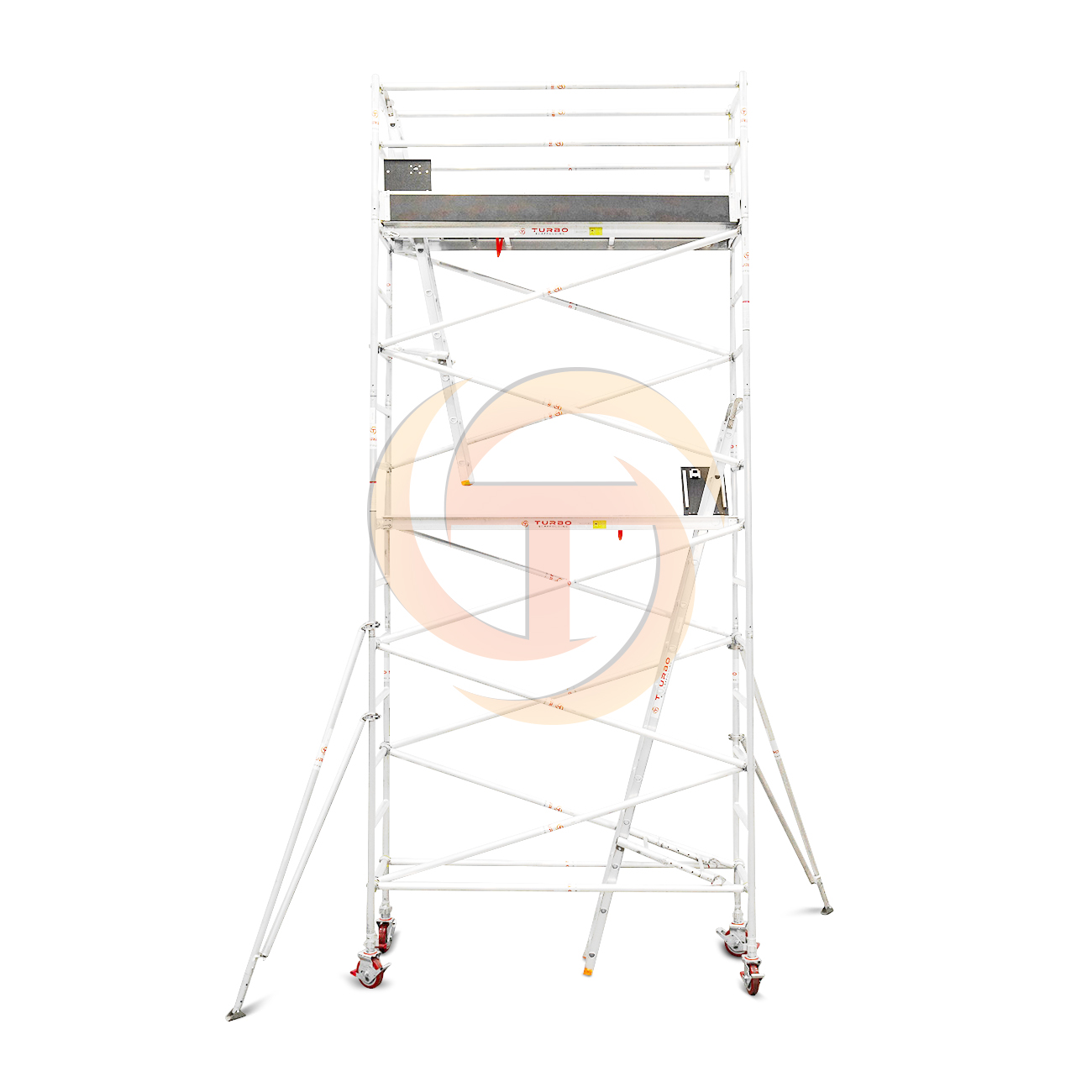 5.1m – 5.4m Narrow Aluminium Mobile Scaffold Tower (Standing Height)