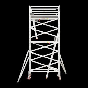 5.1m - 5.4m Narrow Aluminium Mobile Tower (Standing Height)