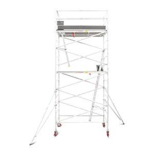 5.1m - 5.4m Wide Aluminium Mobile Tower (Standing Height)