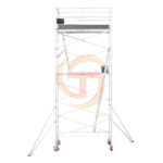 5.5m – 5.8m Narrow Aluminium Mobile Scaffold Tower (Standing Height)