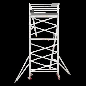 5.5m - 5.8m Narrow Aluminium Mobile Tower (Standing Height)