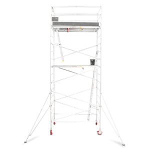 5.5m - 5.8m Wide Aluminium Mobile Tower (Standing Height)