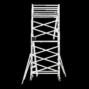 5.9m - 6.2m Narrow Aluminium Mobile Tower (Standing Height)
