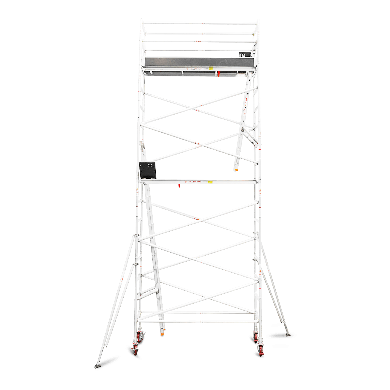 5.9m – 6.2m Narrow Aluminium Mobile Scaffold Tower (Standing Height)