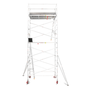 5.9m - 6.2m Wide Aluminium Mobile Tower (Standing Height)