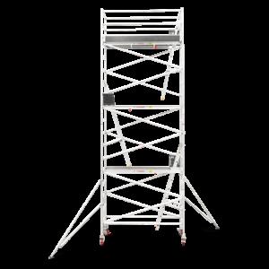 6.3m - 6.6m Narrow Aluminium Mobile Tower (Standing Height)