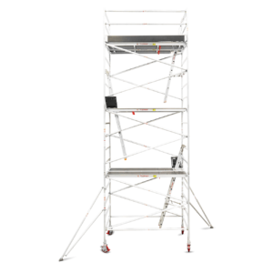 6.3m - 6.6m Wide Aluminium Mobile Tower (Standing Height)