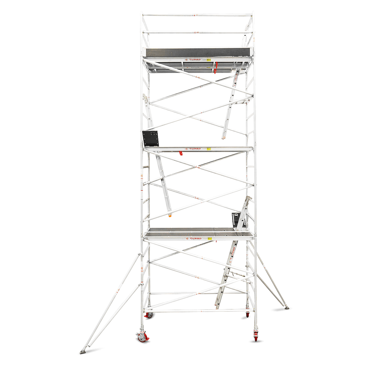 6.3m – 6.6m Wide Aluminium Mobile Scaffold Tower (Standing Height)