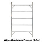6.3m – 6.6m Wide Aluminium Mobile Tower (Standing Height)