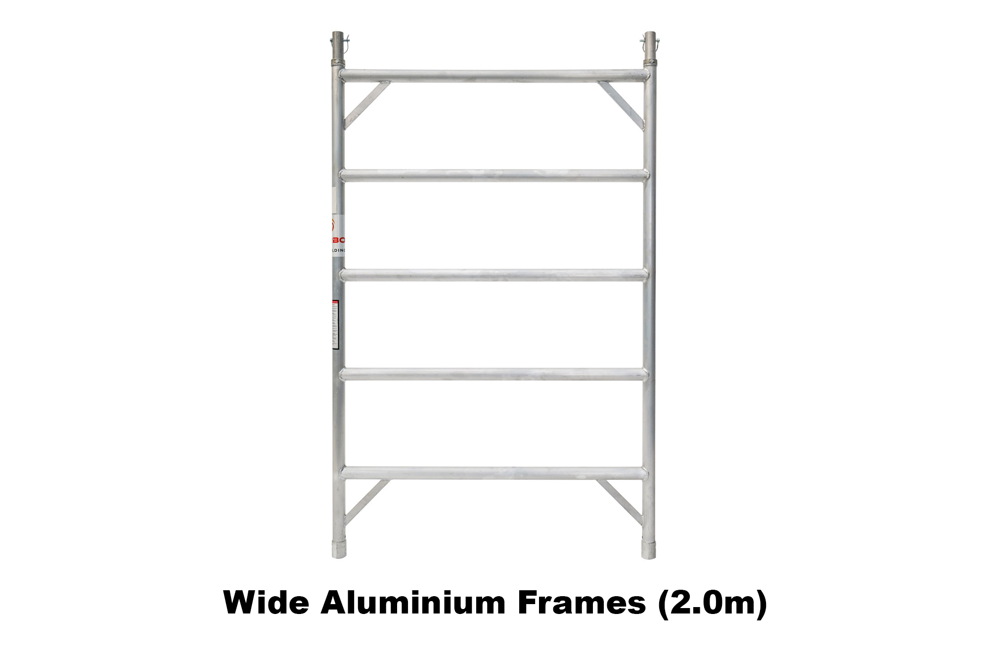 3.5m – 3.8m Wide Aluminium Mobile Scaffold Tower (Standing Height)