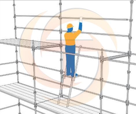 Aluminium Erector Scaffold Ladder Online Turbo Scaffolding