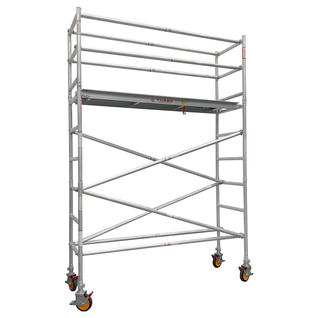 2.7m – 3.0m Wide Aluminium Mobile Scaffold Tower (Standing Height)